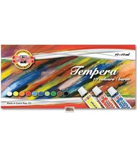 Temperové farby 10 farieb po 10ml 1625S104