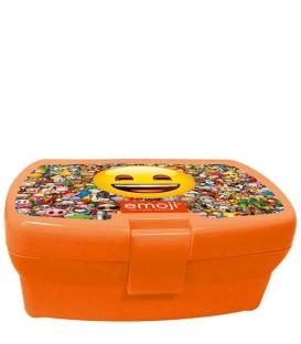Box na desiatu plastový - Emoji