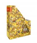 Krabica na časopisy A4 S85 kartón - Emoji Smile