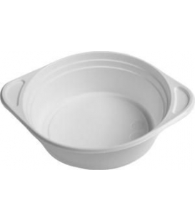 Misky 500 ml na polievku biele plastové, 100 ks