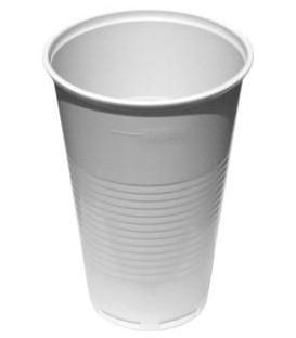 Poháre biele na studené a horúce nápoje 500ml, 50ks