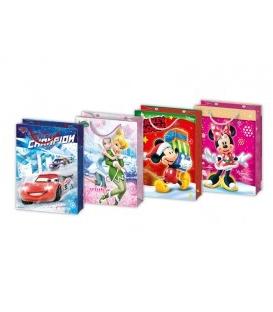 Papierová darčeková taška L Disney s motívom Vianoce