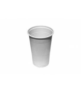 Poháre plast biele 200ml na studené nápoje 100ks