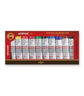 Akrylové farby 162704, 10x40ml