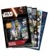 Maľovanka + 200 nálepiek motív Star Wars