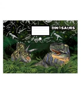Obal A4 na spisy s cvokom PP Dinosaurus