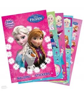 Maľovanka + 200 nálepiek motív Frozen
