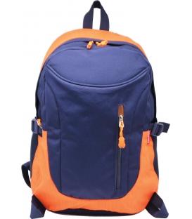 Batoh pre teenagerov, oranžovo-modrý