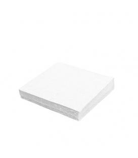 Servítky 2-vrstvové 33x33 biele balenie po 50 ks