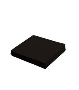 Servítky 2-vrstvové 33x33 čierne balenie po 50 ks