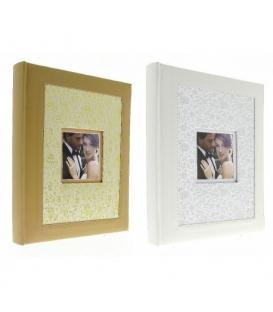 Fotoalbum svadobný na fotorožky 24x29cm, 60 strán