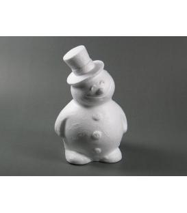 Snehuliak polystyrenovy 16,5cm