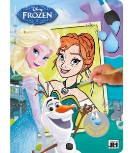 Maľovánka A4 vodová s motívom Frozen