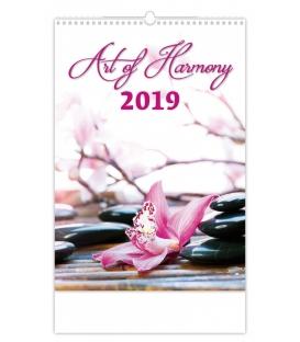 Kalendár nástenný ART OF HARMONY 2019