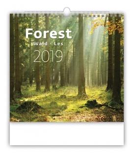 Kalendár nástenný FOREST 2019