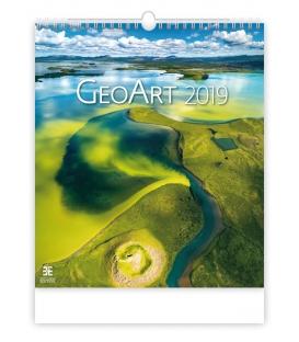 Kalendár nástenný GEO ART 2019