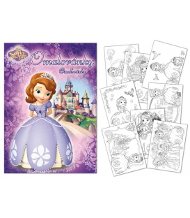 Maľovánka A4 - Sofia the First