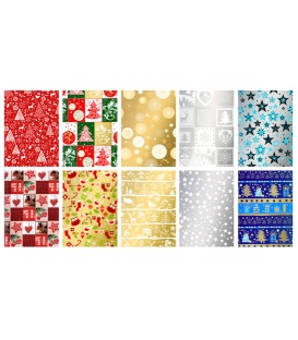 Papier baliaci Vianočný 5m x 70cm