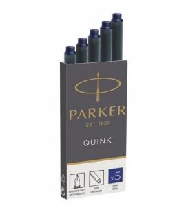 Bombičky Parker atramentové 5ks BLUE