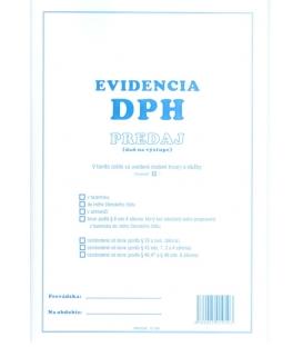 Evidencia DPH - predaj A4, 40 strán