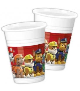 Plastový pohár 200 ml PAW PATROL 8 ks v balení