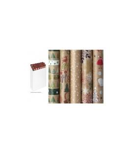 Baliaci papier vianočný  NATURE SPIRIT 200 x 70 cm