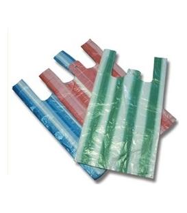 Mikroténová taška pruhovaná 30x16x52 nosnosť 8 kg 100 ks / blok