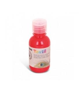 Farba na textil 125 ml červená