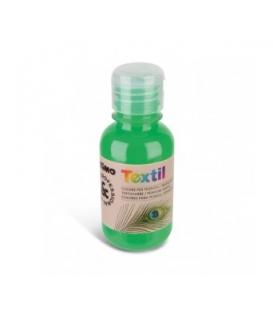 Farba na textil 125 ml fluo zelená