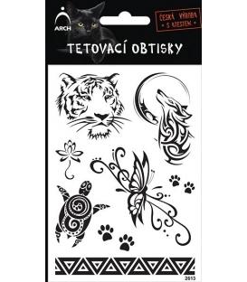 Tetovačky čierne Tigrica