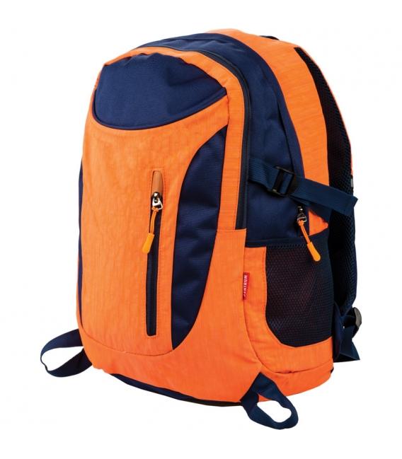 Batoh pre teenegerov oranžovo - čierny
