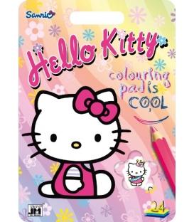 Blok kreatívny A4 Hello Kitty