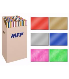 Baliaci papier jednofarebný mix v rolkach 200x70