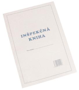 Inšpekčná kniha A4