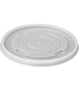 Viečko plastové na okrúhlu misku na polievku, 50 ks