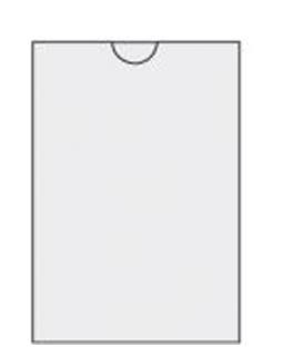 Puzdro 62x89 mm, 300  µm