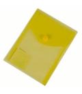 Plastový obal s cvokom A6 žltý