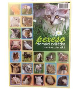 Pexeso - domáce zvieratká