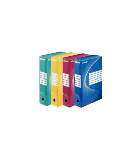 Krabica archívna 80 mm  128412  červená