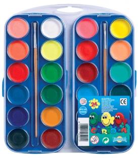 Vodové farby 24-far. KO 054/A