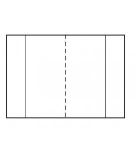 Obal na knihu 53 x 30,5 mm 90µm samolepiaca páska