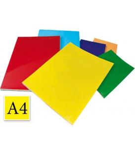 Ofsetový kartón A4/125 g, žltý 20 ks