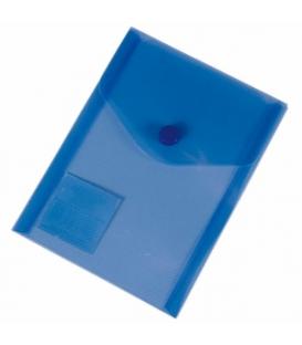 2910d832ab Plastový obal s cvokom A6 modrý