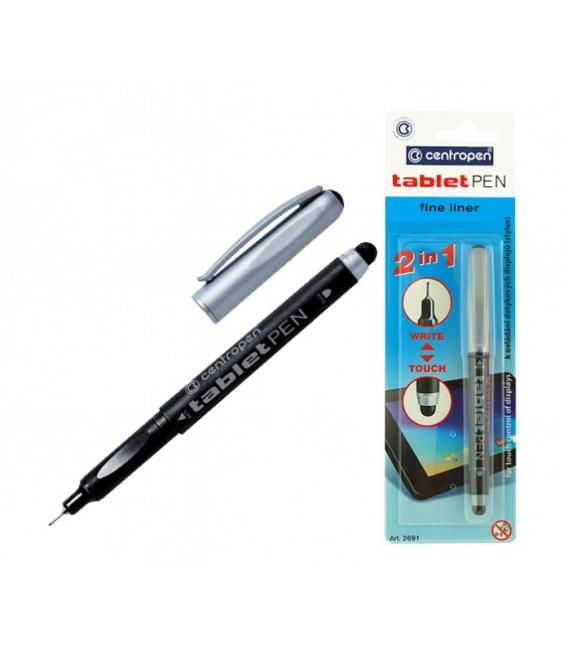 Pero na tablet čierne 3,5 mm v blistri