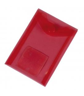 Plastový obal s cvokom A7 červený
