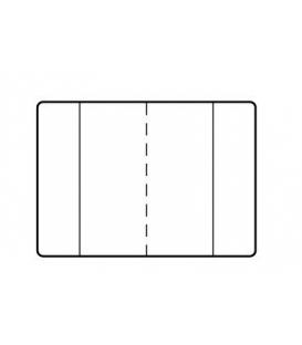 Obal na zošity A5 č. 111 priehľadný 100µm 305x215mm