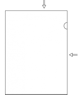 Obal A4 L hrubý 200 µm