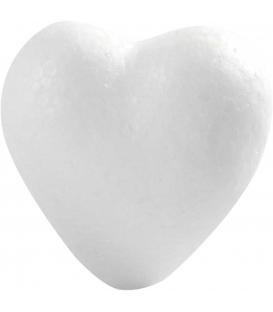 Srdce polystyrénové 60mm, 50ks