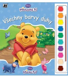Maľovanka s farbami A4 Disney Macko Puf