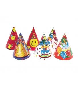 Párty klobúk 16cm - 6ks II